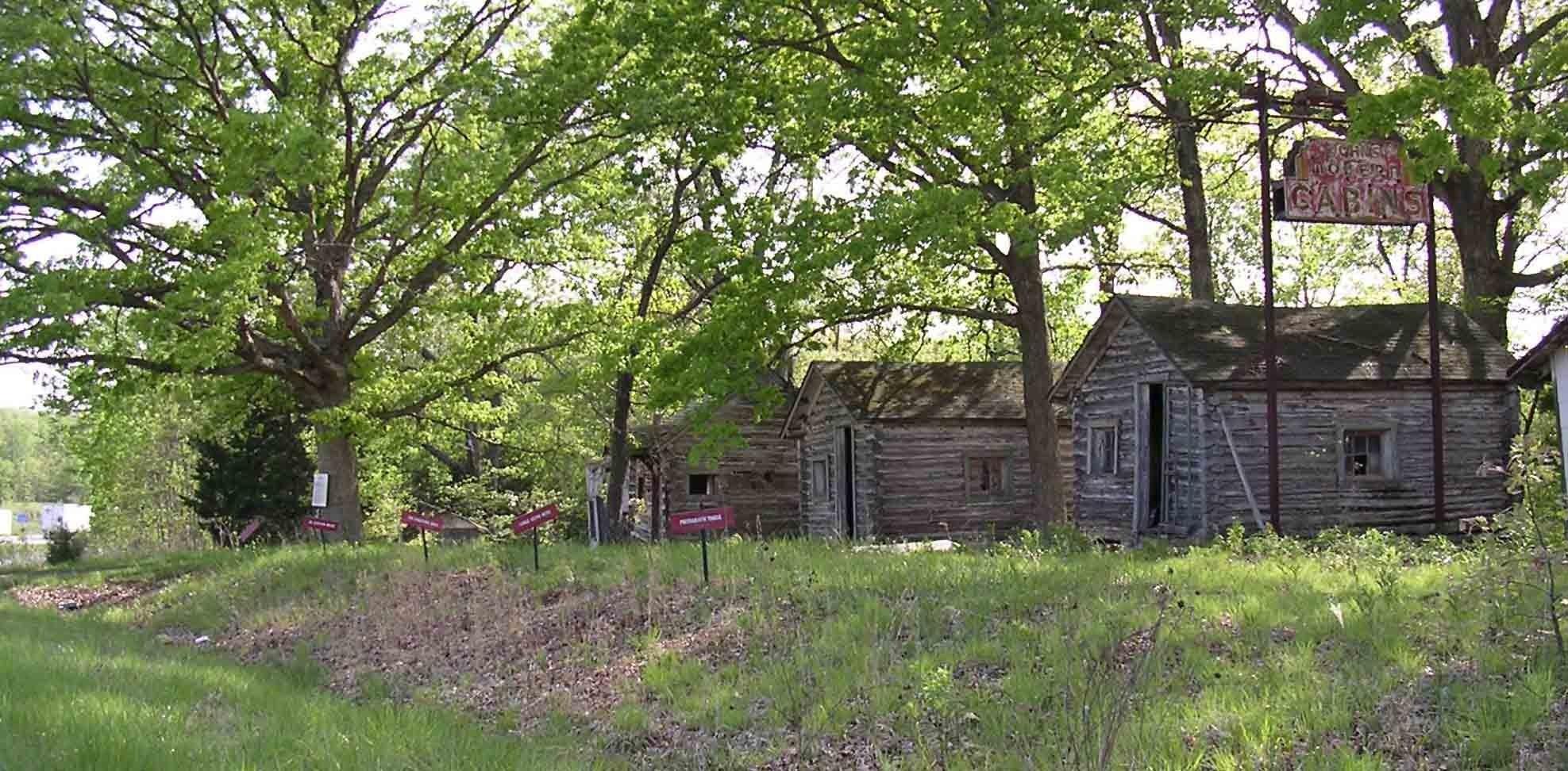 Missouri john s modern cabins west of arlington missouri abandoned